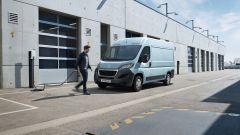 Peugeot e-Boxer elettrico: la ricarica