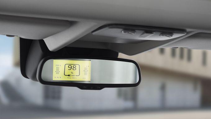 Peugeot e-Boxer elettrico: lo specchietto digitale