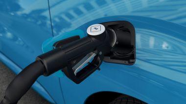 Peugeot e-Expert Hydrogen: il bocchettone di ricarica