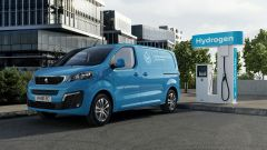 Peugeot e-Expert Hydrogen: il furgone a idrogeno plug-in