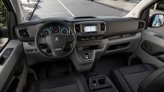 Peugeot e-Expert Hydrogen: interni uguali alle altre versioni