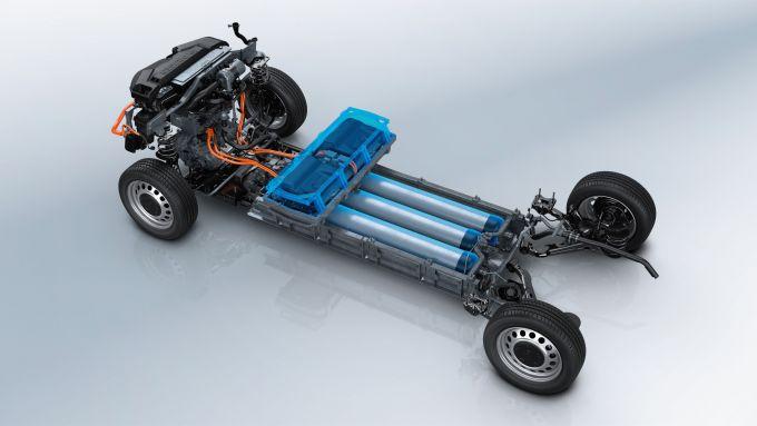 Peugeot e-Expert Hydrogen: la tecnologia sotto il pianale