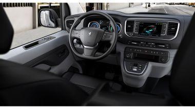 Peugeot e-Expert: l'abitacolo