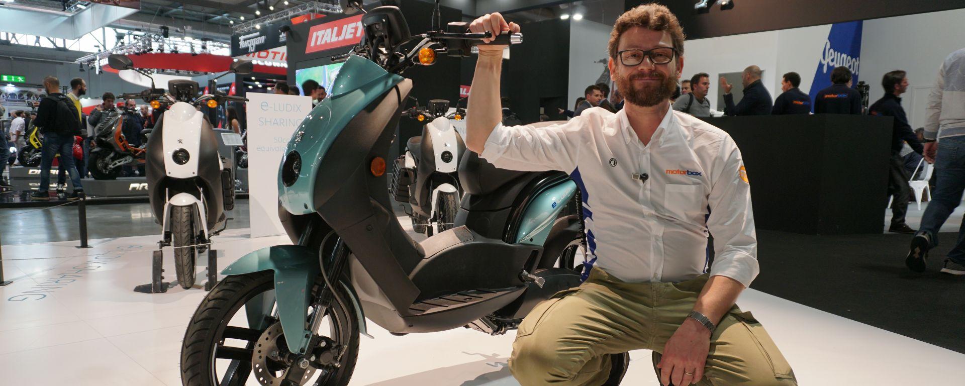 Peugeot e-Ludix 2020: il nuovo scooter elettrico in video