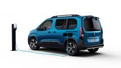 Peugeot e-Rifter accetta ricariche fino a 100 kW di potenza