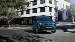 Peugeot e-Rifter, il frontale