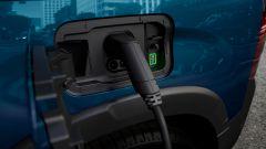 Peugeot e-Rifter in ricarica