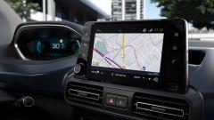 Peugeot e-Rifter, la mappa del navigatore