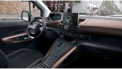 Peugeot e-Rifter, la plancia