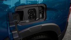 Peugeot e-Rifter, la presa di ricarica