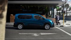 Peugeot e-Rifter, vista laterale