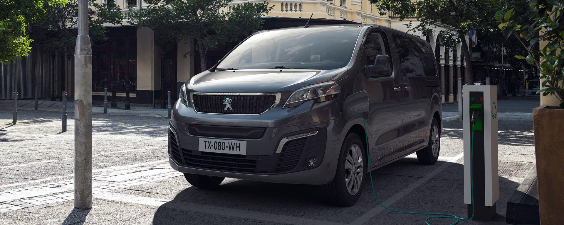 Peugeot e-Traveller: il nuovo furgone elettrico della casa francese