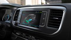 Peugeot e-Traveller: l'infotainment dedicato alla modalità elettrica