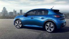 Peugeot e208, compatta 100% elettrica