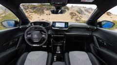 Peugeot e208, la plancia
