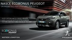 Peugeot Ecobonus, la pubblicità della campagna
