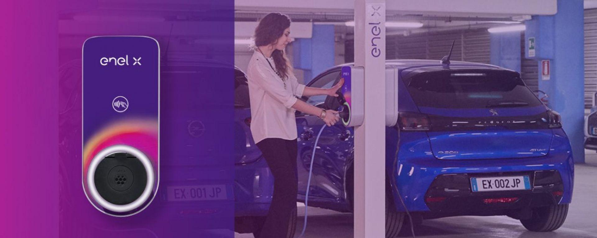 Peugeot ed Enel X: l'offerta per BEV e PHEV