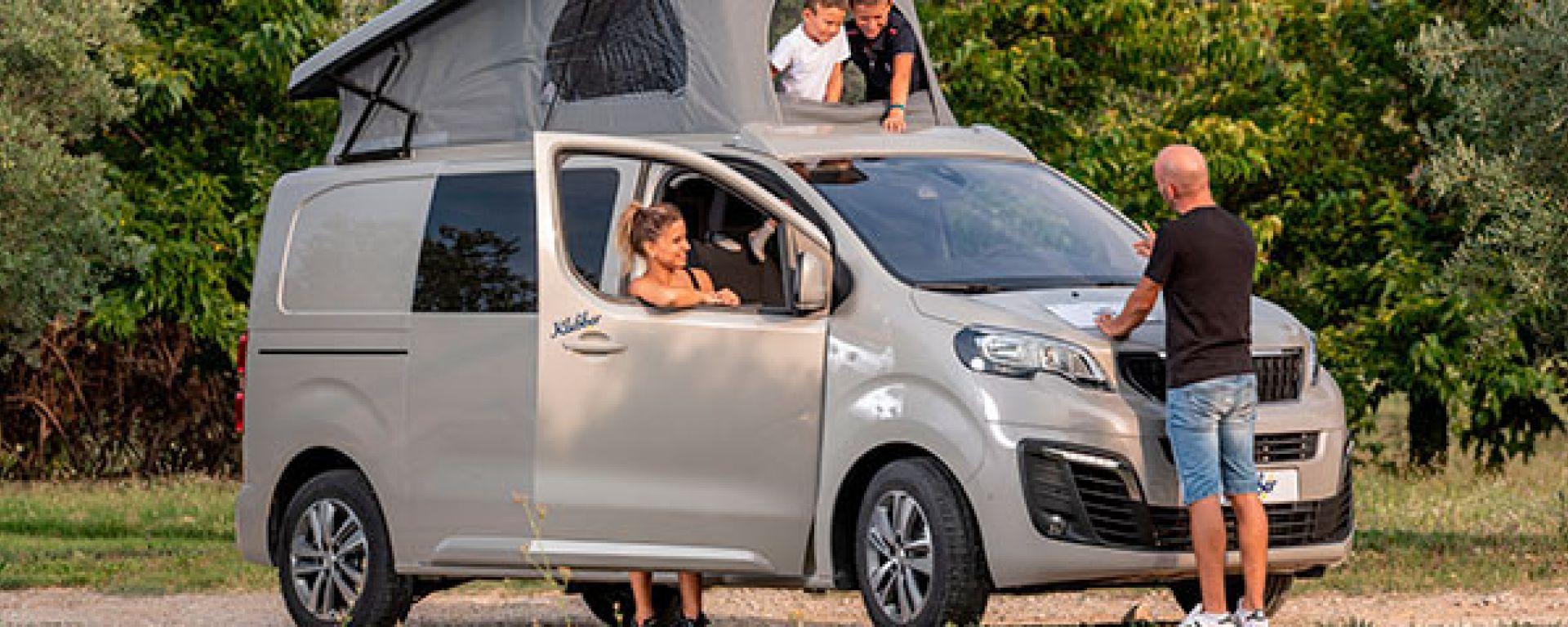 Peugeot Expert Klubber, Salone del Camper 2019