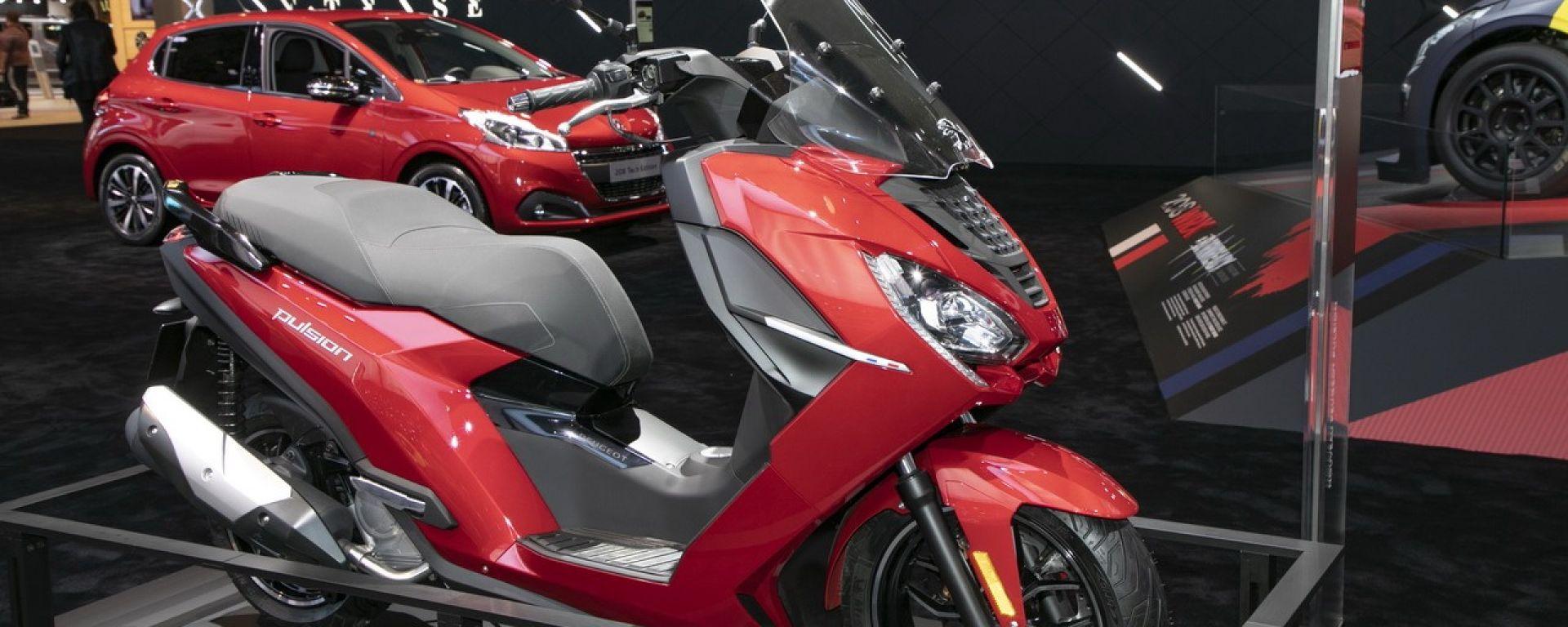 Peugeot: in futuro Pulsion 125 ma anche moto ed elettrico
