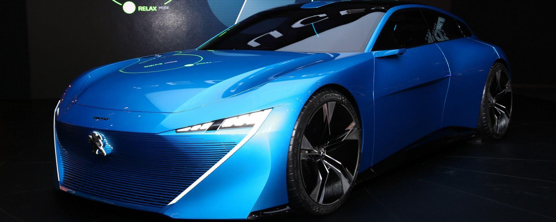 Peugeot Instinct Concept al Salone di Ginevra 2017