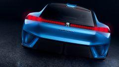 Peugeot Instinct Concept, powertrain ibrido: due motori elettrici e un turbobenzina
