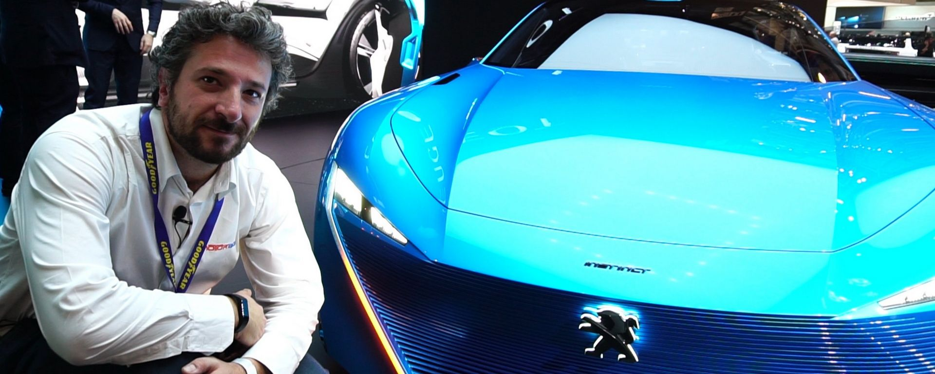 Peugeot Instinct Concept, Salone di Ginevra 2017, live dallo stand Peugeot