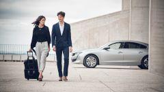 Peugeot 508: la berlina ispira una linea di bagagli in pelle e Alcantara