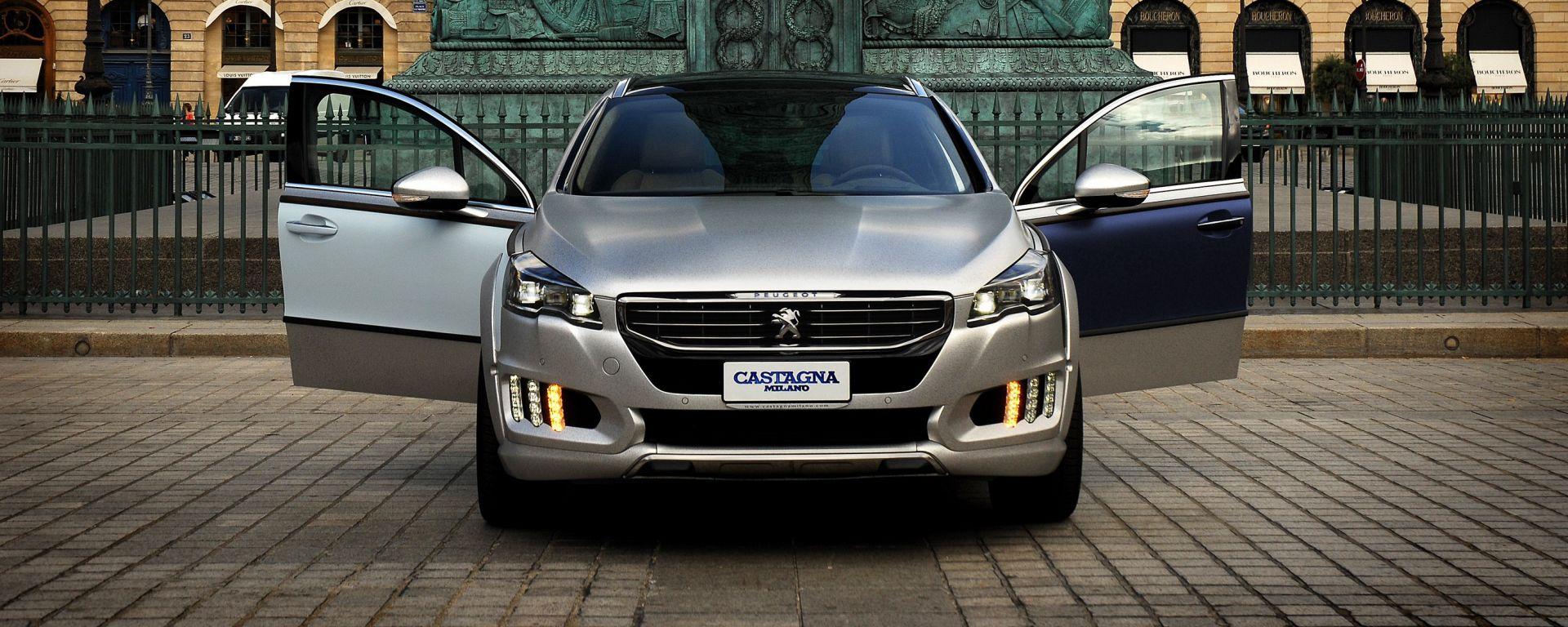 Peugeot: la carrozzeria Castagna firma la nuova 508 RXH Gris