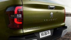 Peugeot Landtrek, dettaglio del fanale posteriore