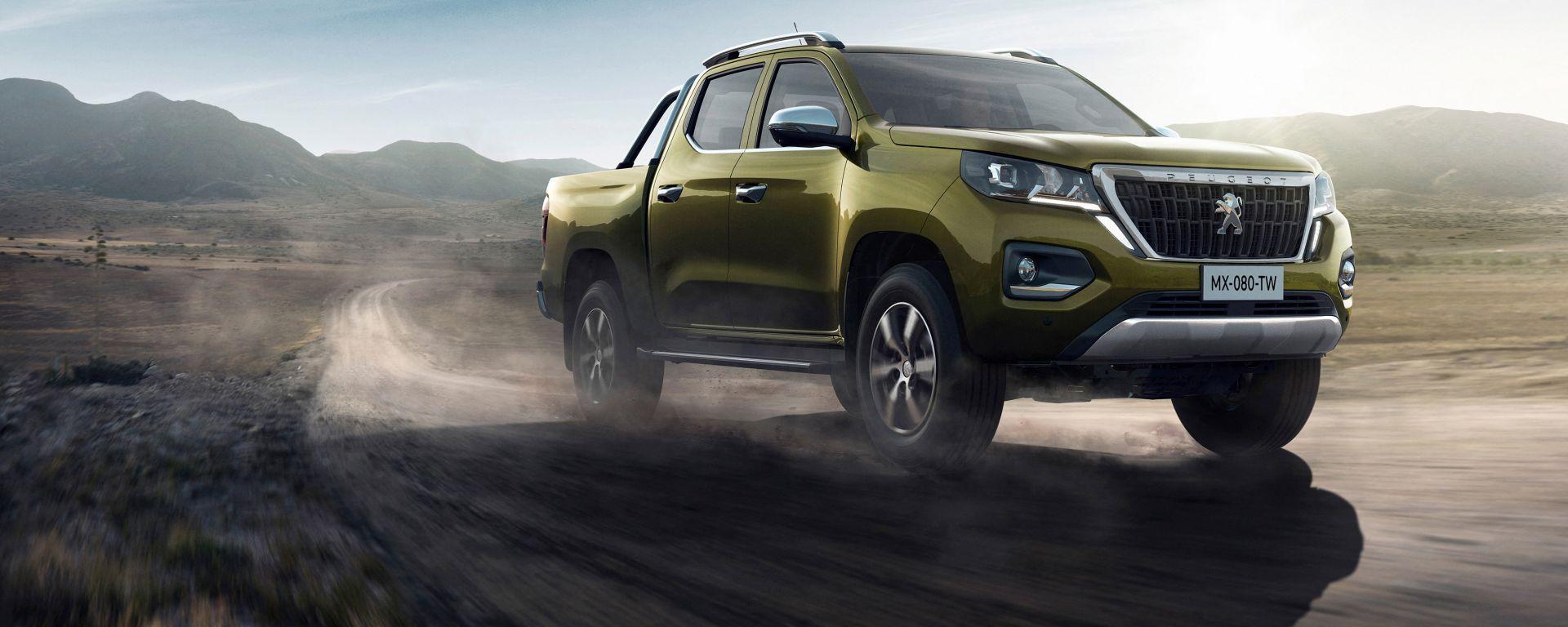 Peugeot Landtrek, il primo pick-up del Leone