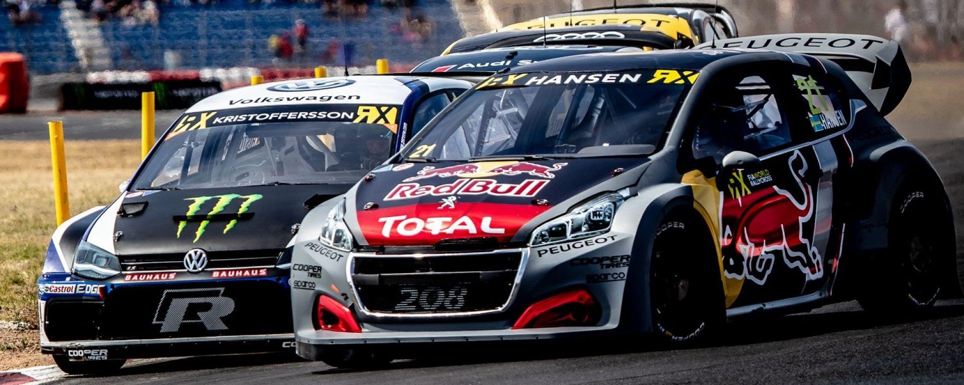 Peugeot lascia il Rallycross con un podio di Loeb