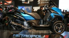 Peugeot Metropolis RS Concept: il video da Eicma 2019 - Immagine: 5