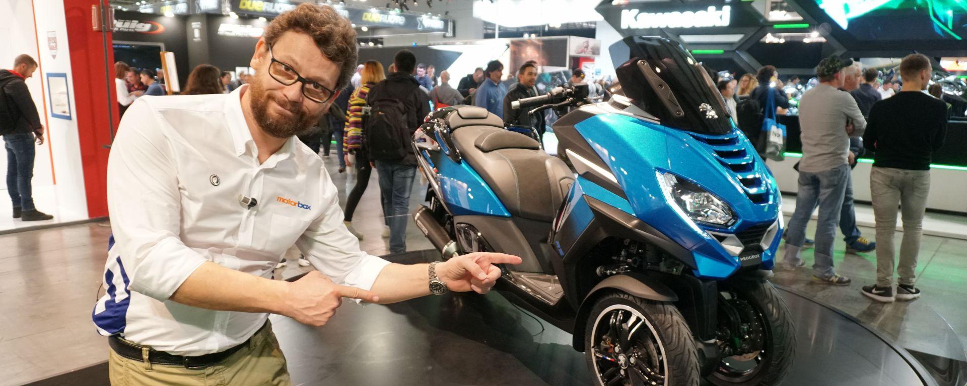Peugeot Metropolis RS Concept: il video da Eicma 2019