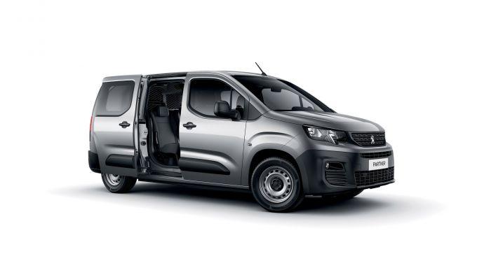 Peugeot Partner: il 3/4 anteriore