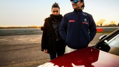 Paolo Andreucci e Melita Toniolo sulla Peugeot RCZ R - Immagine: 10