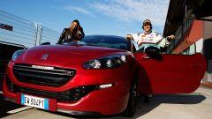 Paolo Andreucci e Melita Toniolo sulla Peugeot RCZ R - Immagine: 6