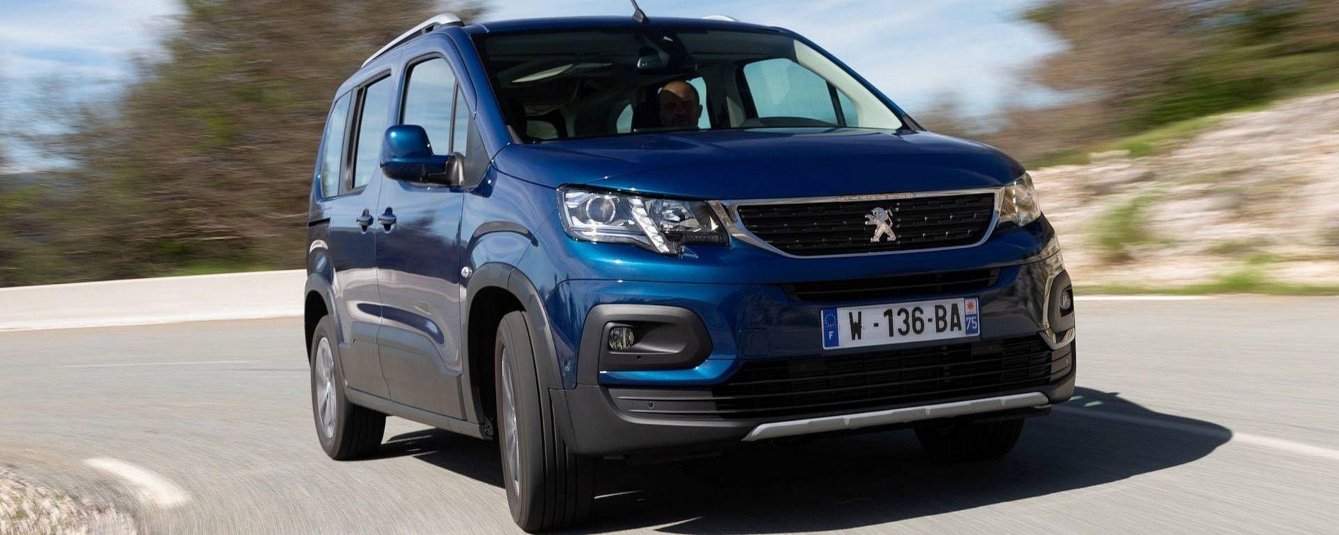 Peugeot Rifter 2018: stile da SUV spazio da lounge
