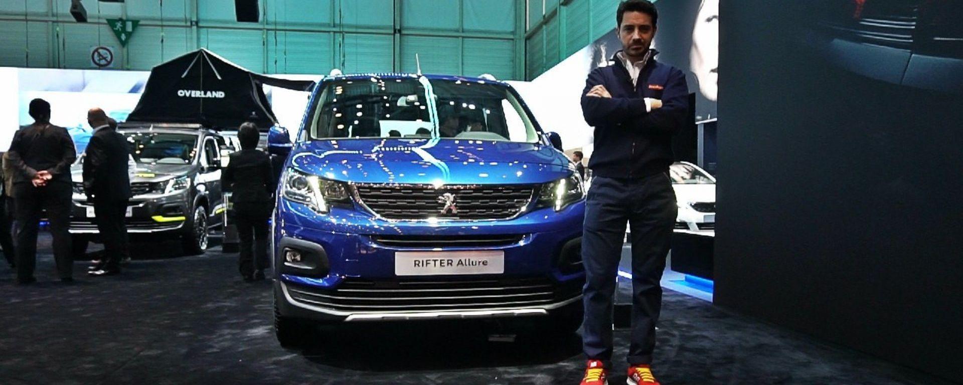 Peugeot Rifter, Live Salone di Ginevra 2018