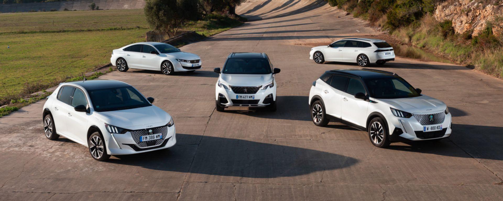 Peugeot, si rinnova il webstore