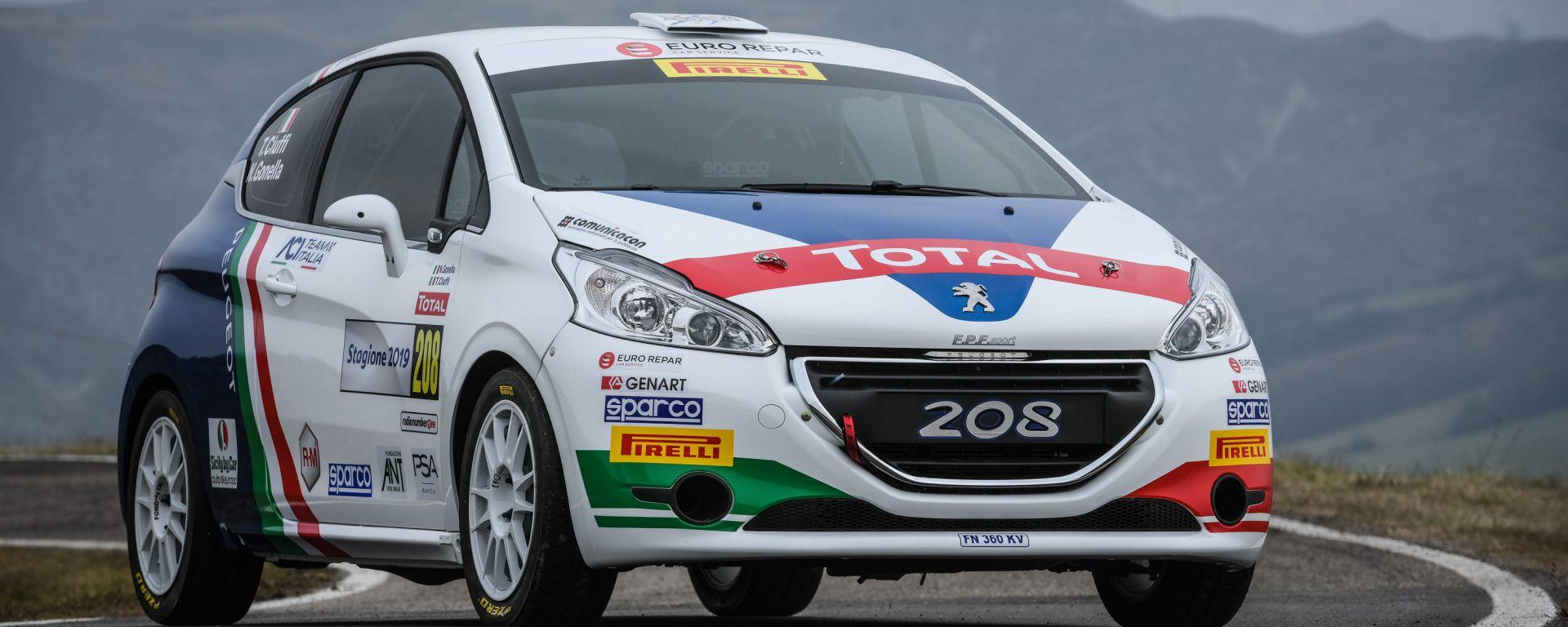 Peugeot Sport: la nuova sfida senza Andreucci, ecco Ciuffi-Gonella