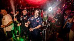 Peugeot Sport festeggia la vittoria del Silk Way Rally 2017