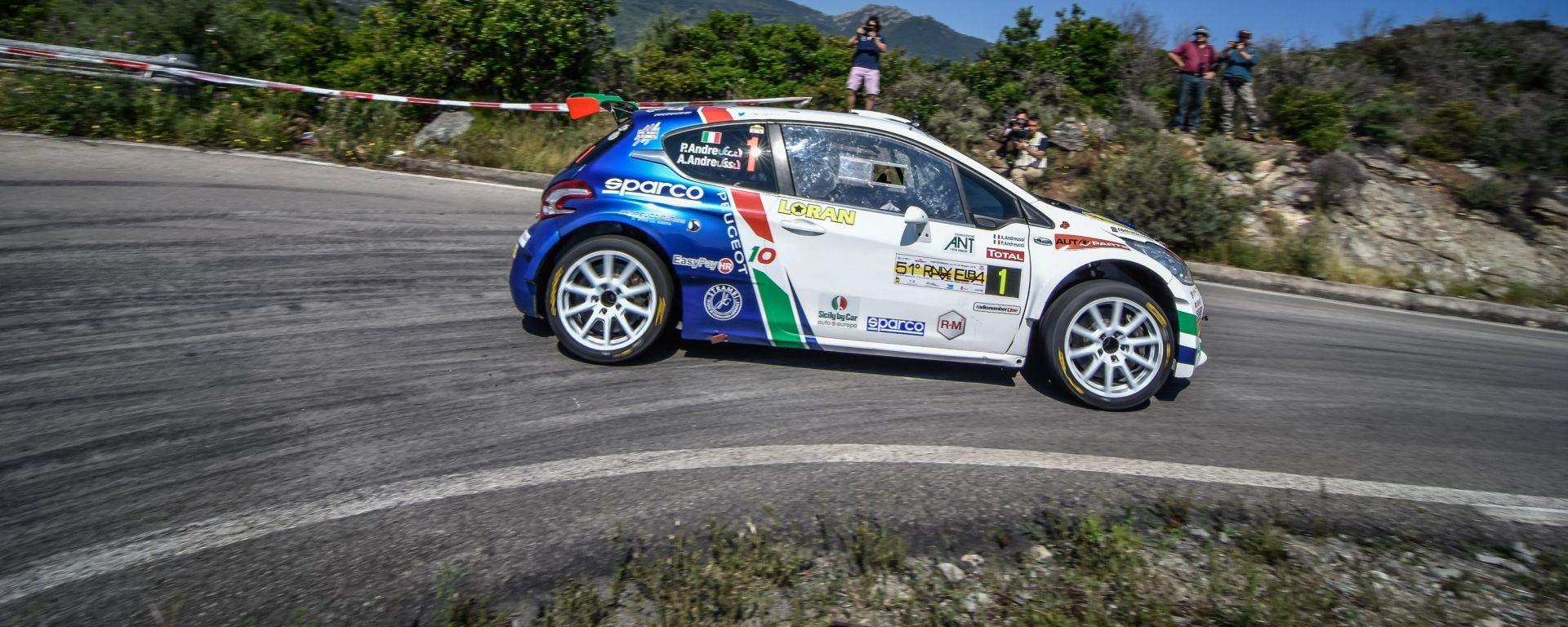 Peugeot Sport Italia all'attacco del Rally di San Marino 2018