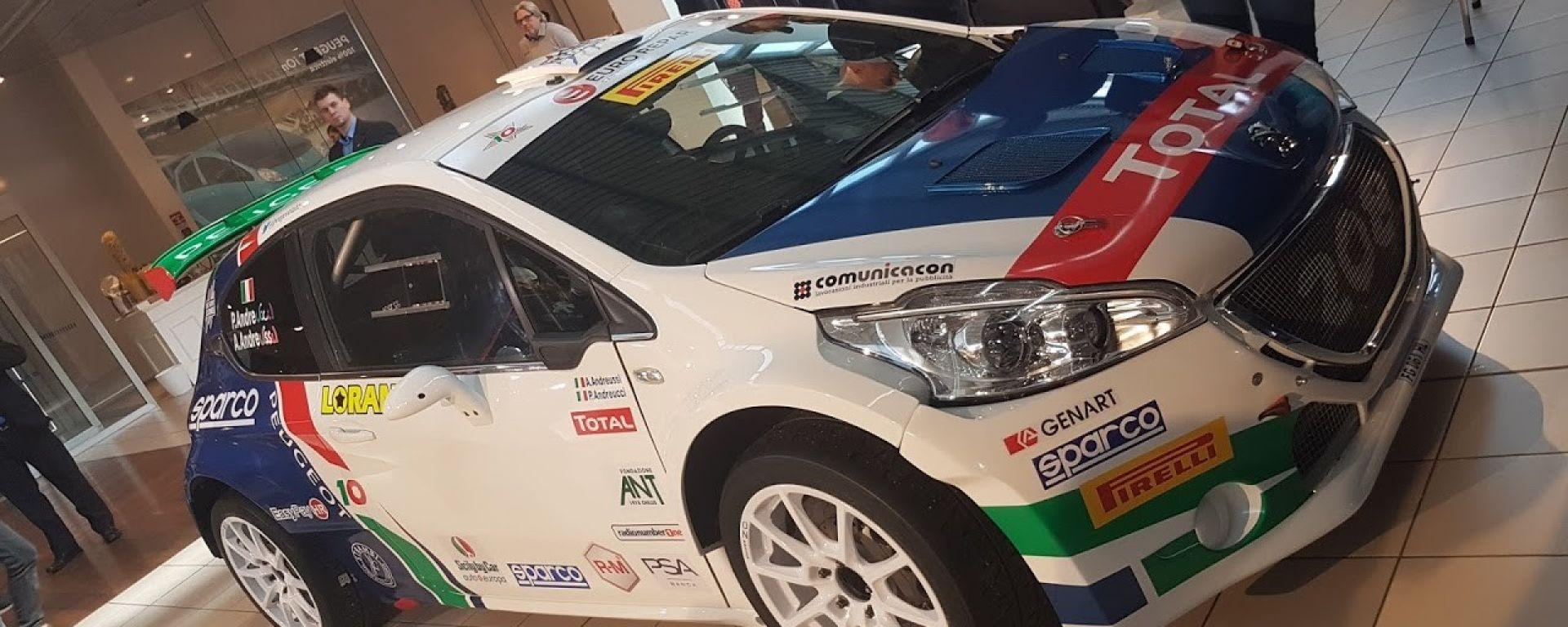 Peugeot Sport Italia - La Peugeot 208 di Andreucci