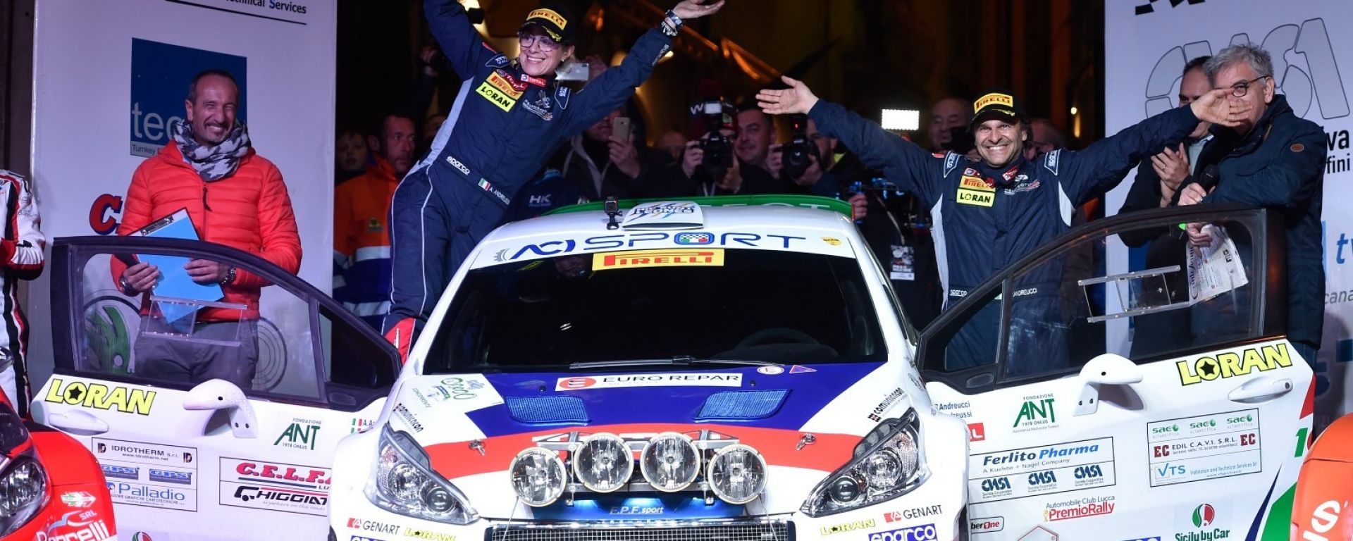 Peugeot Italia punta alla vittoria nel Rally di Sanremo 2018