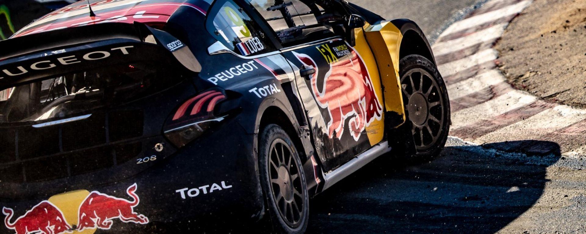 Peugeot Sport lascia il Rallycross: ecco il comunicato