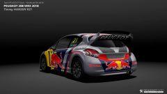 Peugeot Sport svela la 208 di Rallycross per Loeb e Hansen - Immagine: 8