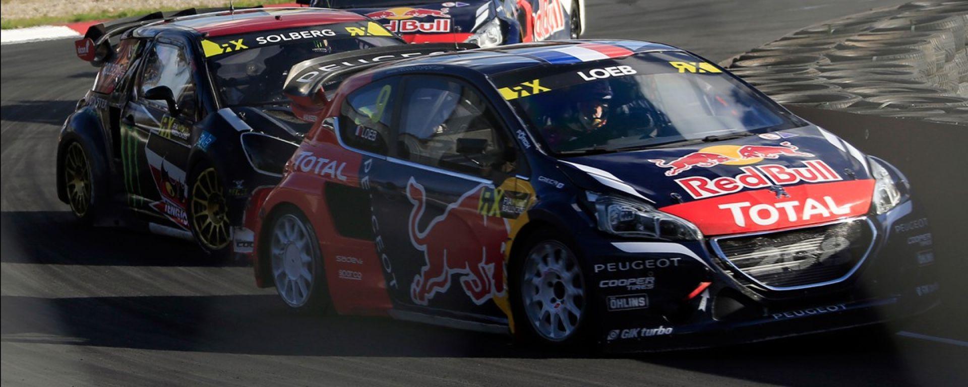 Peugeot Team Hansen - Mondiale Rallycross 2016