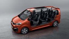Peugeot Traveller, abitacolo fino a 9 posti