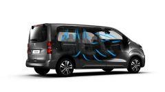Peugeot Traveller, efficiente sistema di ventilazione