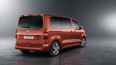 Peugeot Traveller, la capacità di carico non ha rivali